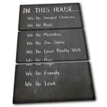 Family House Rules Typography - 13-2381(00B)-TR32-PO